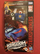 Transformers Kingdom Tracks Deluxe War for Cybertron NEW MISB
