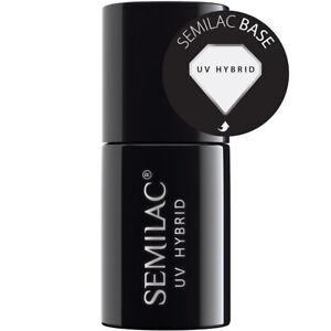 Semilac Base Coat Hybrid Manicure UV/Led Nail Gel Polish