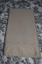 Yves Delorme Beige/Tan Euro Pillow Sham 100% Cotton Sateen France