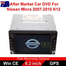 "6.2"" Double 2 DIN Car DVD Player Stereo GPS for Nissan Micra 2007-2010 K12"