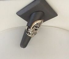THE   GRIM REAPER  SIZE 7 STERLING SILVER RING  - shipped free