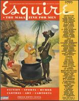 Esquire Magazine 1940s Collection 120 Issues 1940-1949 War Time America On Disc