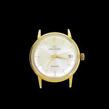 RARE 18K Gold Movado Kingmatic Sub Sea Ref 5231 28J Automatic Wristwatch w/ Date