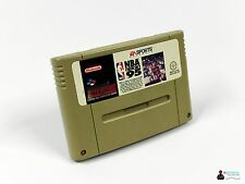* Super Nintendo SNES juego-EA Sports NBA Live 95-módulo *