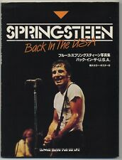 Bruce Springsteen Japan Photo Book Back in the U.S.A.