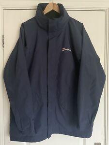 Berghaus Men's Cornice Waterproof Gore-tex Jacket Navy Blue Size Large