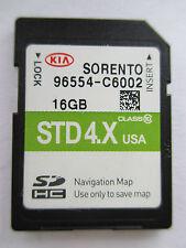 2015 2016 KIA Sorento Navigation SD MAP DATA CARD Part 96554-C6002 Latest update