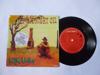 "MIDNIGHT OIL ~ INTO THE VALLEY ~ UK 1993 NEAR MINT INDIE ROCK 7"" VINYL SINGLE"