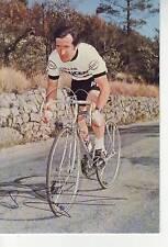 CYCLISME carte cycliste BERNARD BOURREAU équipe PEUGEOT- ESSO signée
