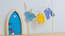 Irish Fairy Door Garden Clothes Male Washing Line Doll House Miniature Accessory