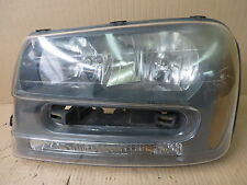 CHEVY CHEVROLET TRAILBLAZER 02-09 2002-2009 HEADLIGHT w/ NOTCH DRIVER LH LEFT