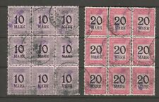 Germany Tax fiscal revenue stamp 4-14