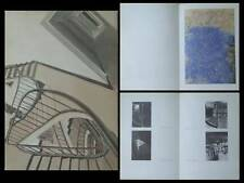 CATALOGUE SAM SZAFRAN, PASTELS - 1974 - ARTEL GALERIE GENEVE