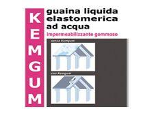 KEMGUM GUAINA LIQUIDA CALPESTABILE ROSSO LT 5