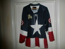 Captain America Sweater Jersey (unhooded) 88 Chicago Adult Size *Medium*