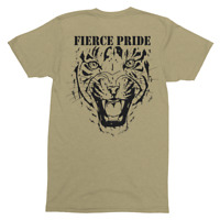 Fierce Pride PWRR T-Shirt (Black Design)