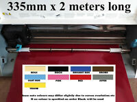 Plotter Vinyl 335mm  -  Ideal size for silhouette Cameo NO CARRIER SHEET NEEDED