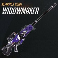 Hot Game Overwatch Widowmaker Emily Rakova Pulse Gun Model Cosplay Prop