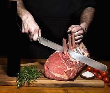 12″ Slicing Carving Knife +6″ Boning Knife + 8″Knife Sharpener- Ham knife