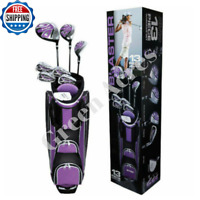 Golf Club Set Ladies Women Right Handed Complete Set Cart Bag Clubs 13 Piece