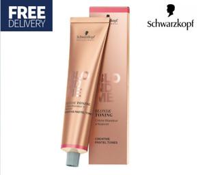Schwarzkopf Professional Blond Me Blondme Blonde Toning Cream 60ml - ICE