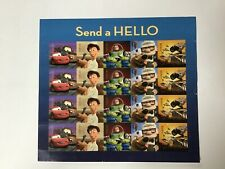 """Disney """"Send A Hello� Sheet of 20 Forever Postage Stamps"""