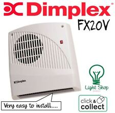 FX20V Dimplex Bathroom Fan Heater with Pull Cord