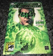 RARE GREEN LANTERN SDCC 2010 EXCLUSIVE WITH GREEN 3-D GLASSES!