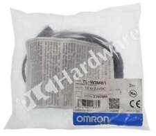 New Sealed Omron Tl W3mb1 Flat Inductive Proximity Sensor No Pnp 10 36v Dc 5m