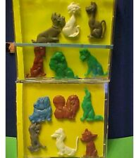 Lady and the Tramp Complete Lot of 12 1950s Disney Food Premium Plastic Figures