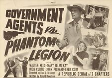 goverment agents vs phantom legion. Cliffhanger.serial.