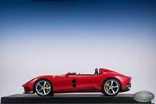 1/18 BBR FERRARI MONZA SP2 2019 Car Model Replica Rosso Corsa 322 Red