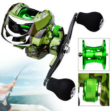 UK Spinning Fishing Reels Baitcasting Reel Saltwater Left Right Hand Bait Feeder
