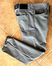 Hugo Boss Black Maine3 Jeans 36 32 Regular Fit Grey Stretch 50373579 NWT $155