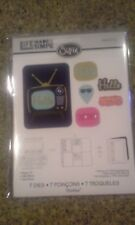 Sizzix / Ellison Life made simple thinlits - Retro TV New in package