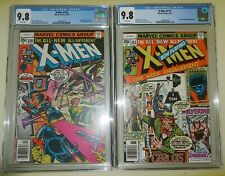 X-Men #110 & #111 - CGC 9.8 White Pages 1978