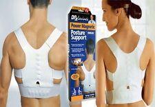 X Large Adjustable Power Magnetic Back Shoulder Posture Support Correction Belt