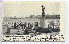(Ga100-367) Surf Boat Memorial, MARGATE 1903 Used VG-EX