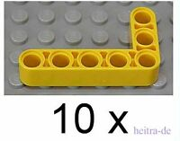 LEGO Technik - 10 x Liftarme 90 Grad 3x5 gelb / Liftarme  / 32526  NEUWARE