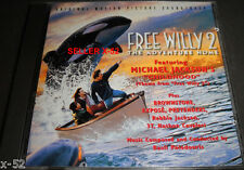 FREE WILLY 2 cd soundtrack MICHAEL JACKSON song CHILDHOOD Pretenders Expose RARE