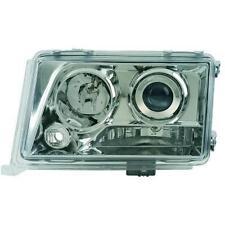 Coppia fari fanali anteriori TUNING MERCEDES W124 93-95 chrome, luce lenticolare