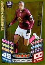 2012-13 Match Attax Legend Foil Card #496 Thierry Henry (Arsenal)