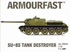 Armourfast 99020 1:72 WWII Russian SU 85 Assault Gun (2 Models)