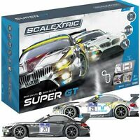 C1360 Scalextric ARC ONE Super GT Slot Car Set Phone Tablet best lowest price