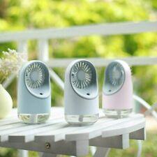 Mini Ventilateur Portable Eau Pulvérisée Humidificateur Rechargeable Camping