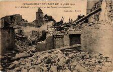 CPA Tremblement de terre - ST CANNAT Le Clocher et les fermes (213729)