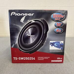 10 Inch Pioneer Shallow Mount Sub Woofer 1200w Max 4 Ohms TS-SW2502S4
