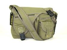 Mens Canvas Messenger Bag Boys Satchel Shoulder School Bags Fashion Handbag UK