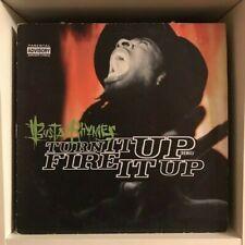 "Busta Rhymes – Turn It Up (Remix) / Fire It Up 12"" Hip Hop Vinyl 1998 Elektra"