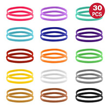 Puppy Whelping Collars 15 Colors Puppy Id Double-Sided Soft Adjustable Id Bands